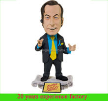 resin plastic custom bobblehead Better Call Saul Goodman breaking bad bobblehead for sale