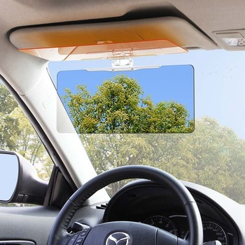 Hot selling Car Sun Visor Anti Blocker UV Fold Flip Down HD Clear View Car Sunshade