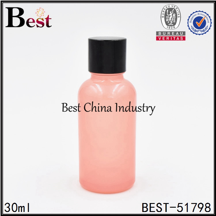 factory price personal care cosmetic packaging olive oil glass bottle screw cap 30ml