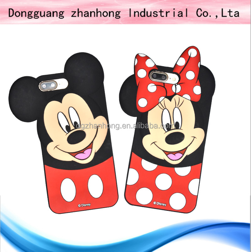 3d cartoon animal silicone case for ipad mini