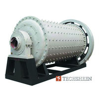 Ball Mill Grinding Machine for Mineral Ore Processing After Crushing and Screening