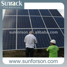 15 Panels Solar Mounting Support Structure