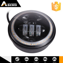 5.75'' 6500K brand chips projector Hi/Lo beam headlight with DRL for motorcycle