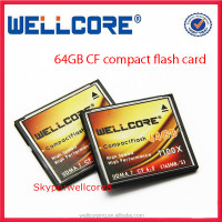 Manufacture High speed 1100x CF card 64GB compact flash card