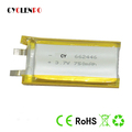 hot sale 662446 LIPO 3.7v lipo battery 750mah li ion polymer battery China supplier