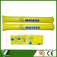 Cheering inflatable sticks for sports events