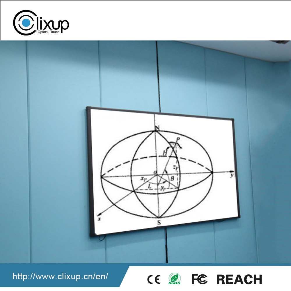 Highly Integrated electronic interactive touch screen smat whiteboard for e-learning
