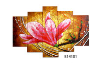Modern abstract oil paintings of flower