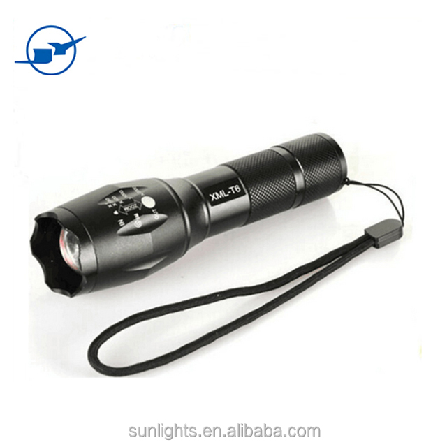 Military Grade LED 1600 Lumens 2000x Waterproof Power Style Tactical Flashligh