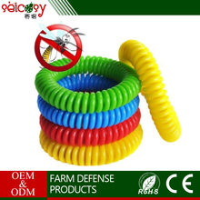 Wholesale eco-friendly waterproof mosquito repellent bracelet