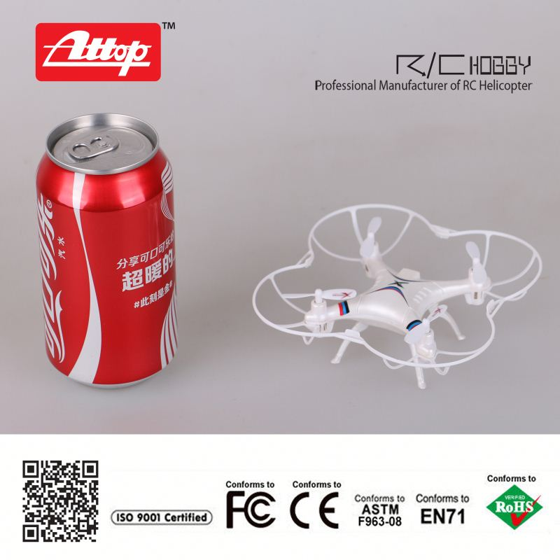 A2 hot-sell rc quadcopter 4ch 2.4G mini rc flying insect toy
