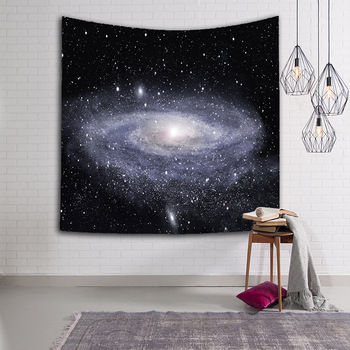 Colorful Universe Galaxy and Stars in Deep Space Wall Tapestry