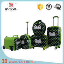 Children travel trolley luggage bag kids luggage set