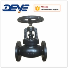 Light Type Commercial Globe Valve with ANSI 125LB 150LB Flange Oil Gas Water