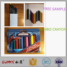 EN71 environmental protection children colorful pastel Jumbo crayon