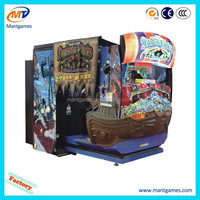 Luxury appearance deadstorm pirates amusement video arcade game machine for sale