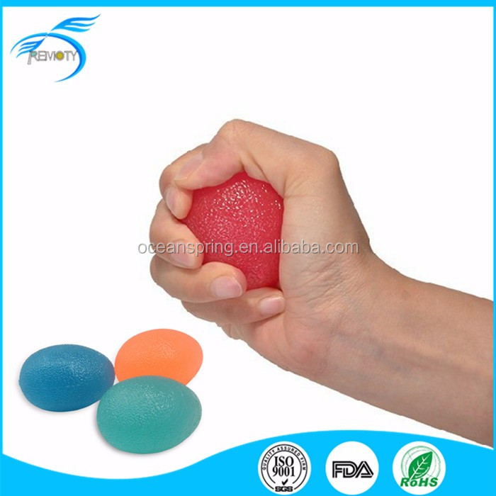 Factory Direct Sale Silicone Hand Grip Ball Gel Stress Ball