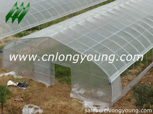 Agricultural high tunnel film plastic poly greenhouse for sale