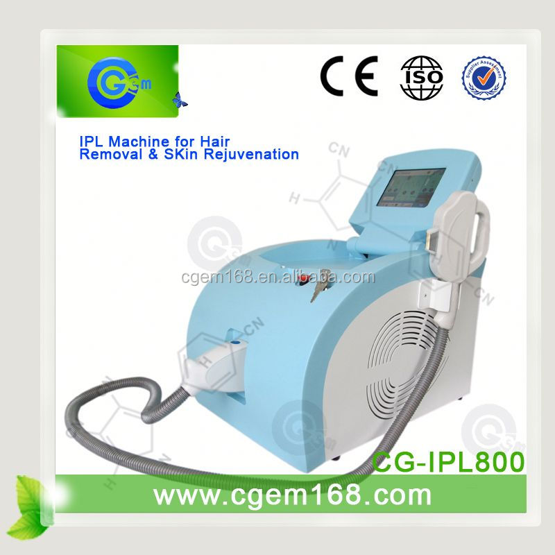 CG-IPL800 Best suppliers of skin rejuvenation ipl hair remove for Skin Tightening & Anti Wrinkle