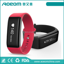Hot-selling OLED Bluetooth4.0 Activity Smart Band Sleep heart rate Wristband Smart Bracelet Health Fitness Watch Tracker