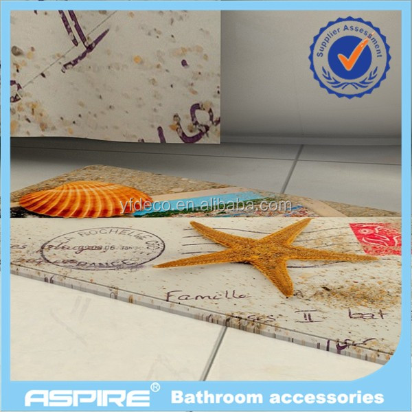 Custom Design Memory Foam Bathroom Bath Mat