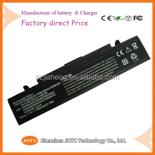 100% compatible Long Standby 6 cell Laptop Battery For Samsung RC730 R458 R519 R522 R428 R440 AA-PB9NS6B Replacement Battery
