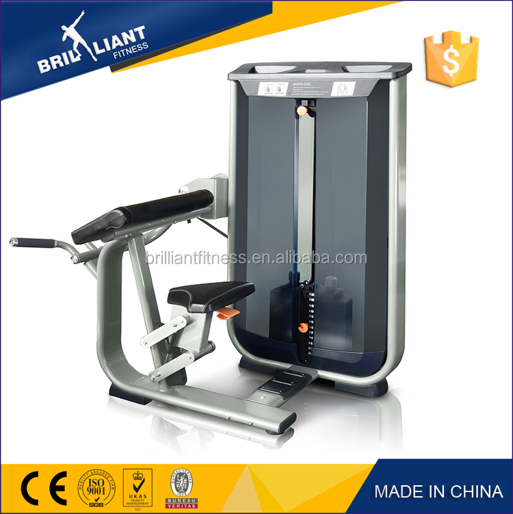 hot sale Bicep machine /arms power exercise equipment
