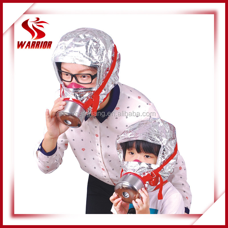 CE approved fire escape safety gas mask
