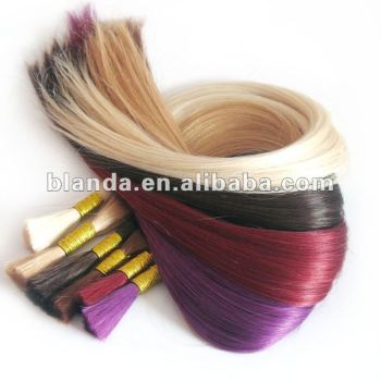Beauty Works Colourful Remi Human Hair Bulk Braiding Extension
