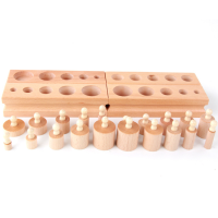 educational socket toys montessori wood socket toys