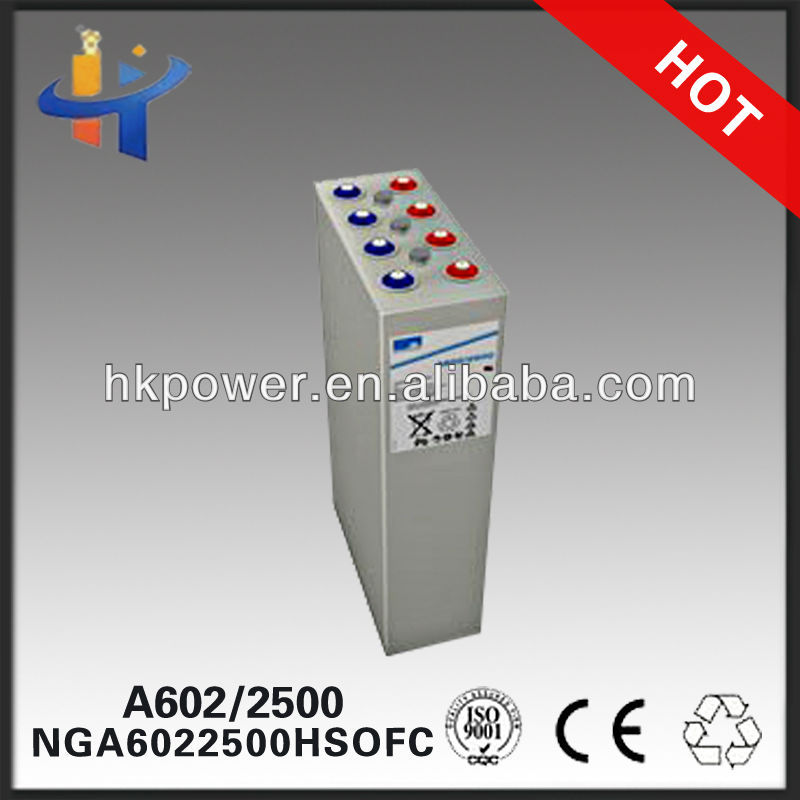 2v 2500ah battery A602/2740 long way battery NGA6022740HSOFC 20 OPzV 2500'