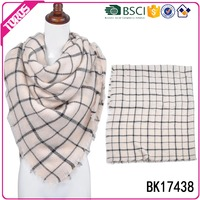 Toros plaid striped knitting patterns scarf women fashion
