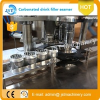 automatic carbonated soft drinks can making machine