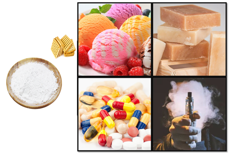 Concentrate Natural Vanillin Powder Flavour for Food Grade