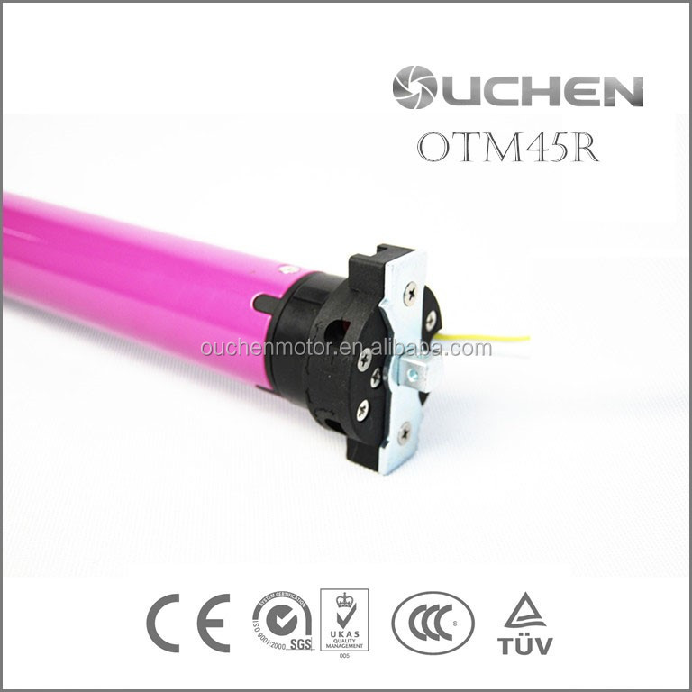 OUCHEN Top Quality Tubular Motor For Roller Shutter Doors