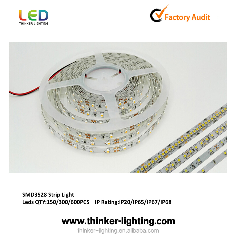 12V Warm White 2700K battery powered led strip lights for cars
