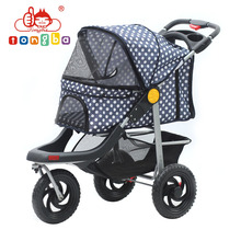 China Oxford Luxury Cheap Pet Stroller Folding