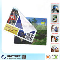 Microfiber lint free lens cleaning cloth