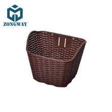 Cheap Professional OEM Bicycle Front Basket Plastic Custom BasketBike Parts CLOBGM015
