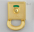 2018 aogao 15-2 antique brass zinc alloy toilet partition cubicle door lock