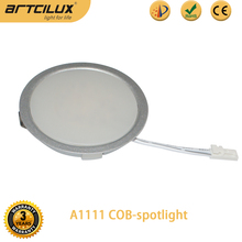 round Design LED Cabinet Lights Low Running Costs Warm White under cabinet task light