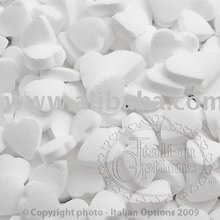 Mint Hearts White Confectionery