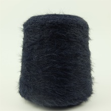 Hot eyelash yarn sale in Pakistan hairy feather soft yarn