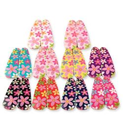 Cute Plastics Bobby Pins for girls Hair Accessories Flower Print Hair Clip Baby Toddler Mix Colors Hairpins for FE042