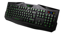 2013 New Design USB Backlit LED Ergonomic Illuminated Gaming Keyboard