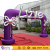 Customized design Purple inflatable wedding arches for sale