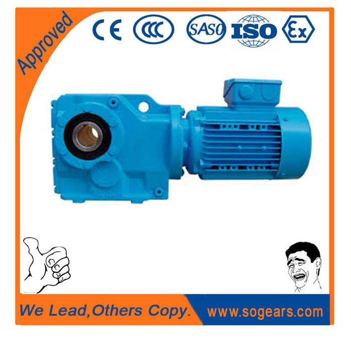 High torque gearbox for elmot for Inclined Sterilizing