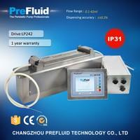 Prefluid LP240 high accuracy linear dispensing pump,chemical dosing pump working principle
