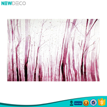 Wholesale tree design abstract living room wall decor painting
