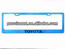 American Car License Plate Frames New PVC Material